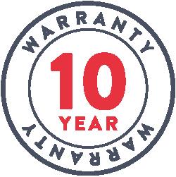 10 jaar waarborg